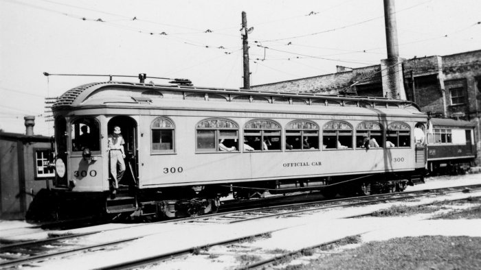 CERA official car 300 as it looked in August, 1942.