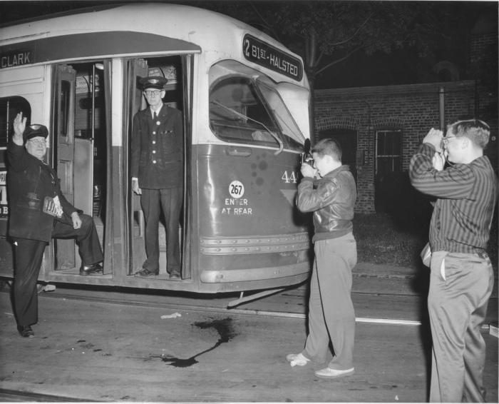 """Green Hornet"" PCC Car #4401 (CTA Historical Collection)"