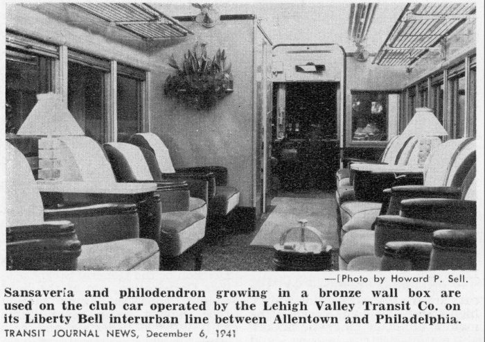 From a 1952 Seashore Electric Railway special report on car #1030 Author's collection)