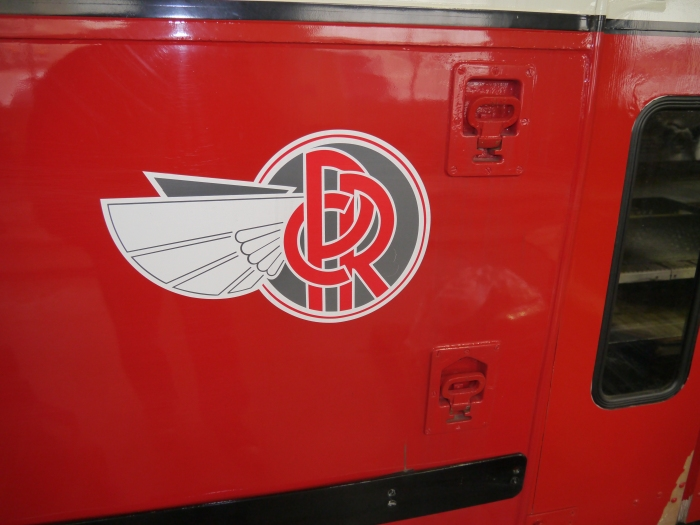 Stylish Pittsburgh Railways logo on 4609.