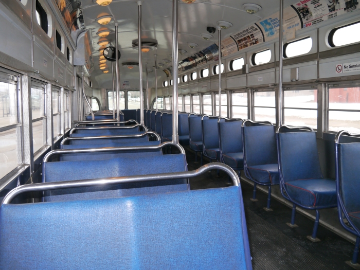 As you can see, the interior of 2185 is in great shape.