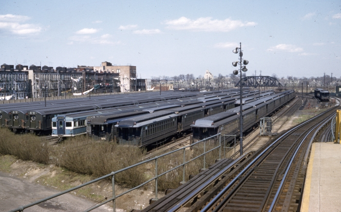 Fresh Pond Yard, Queens, April 22, 1956 (Author's collection)