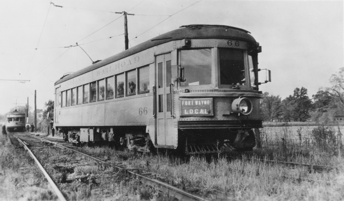 IR #66 on the Fort Wayne local. (Author's collection)