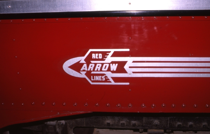 """The """"Red Arrow"""" brand, used by Philadelphia Suburban between 1937 and 1970, when the private operator was sold to SEPTA, a public agency."""