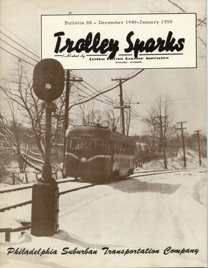 The Red Arrow trolley lines were featured in CERA Bulletin 88.