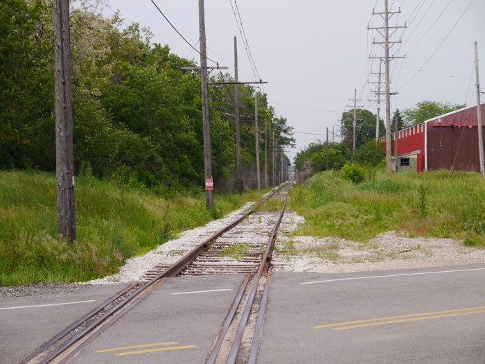 There is some additional trackage beyond the Mukwonago depot that is not used in regular service. (Photo by David Sadowski)