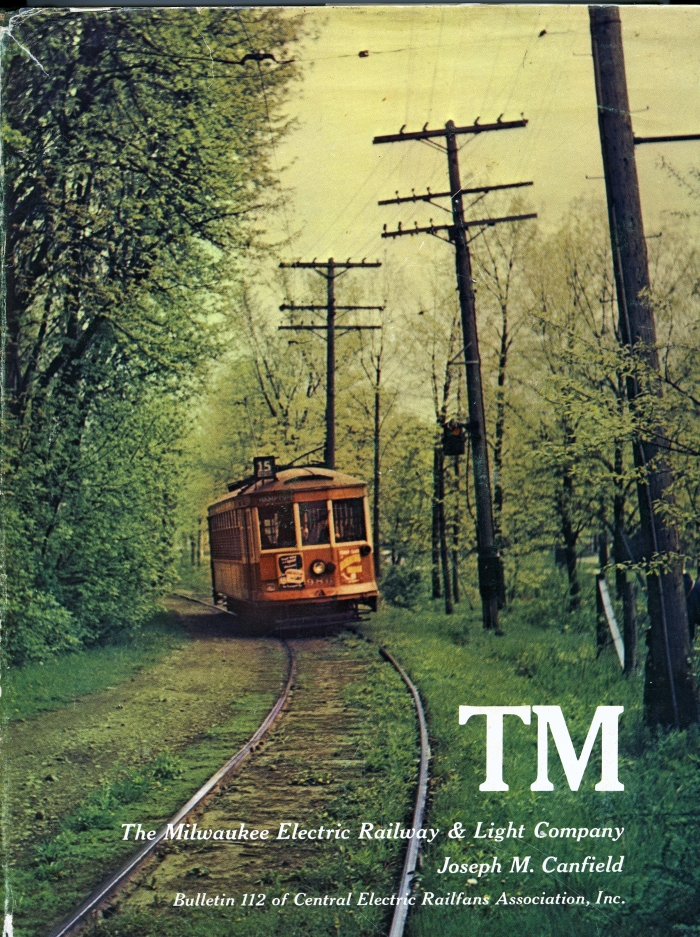 The massive TM book, CERA B-112, was published in 1972 and is another such collector's item focusing on Wisconsin's long traction history.