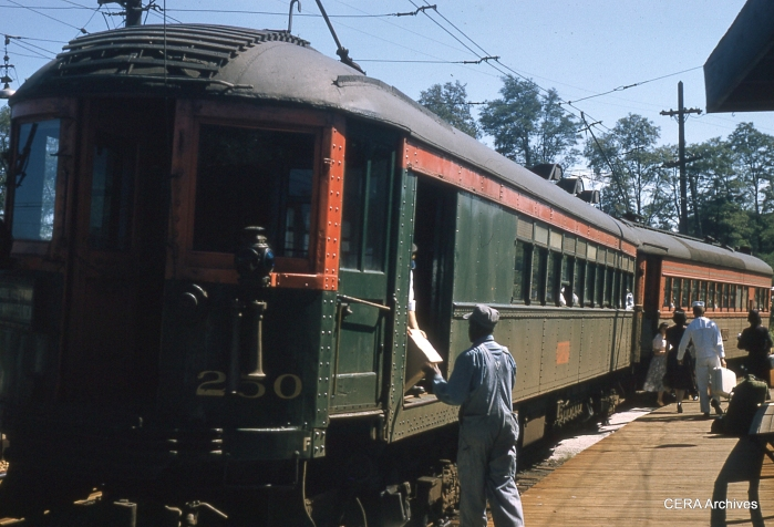 The North Shore handled packages as well as passengers.