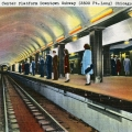 """A """"colorized"""" version of one of the Chicago Subway postcards from our earlier post. 3-D glasses not included."""