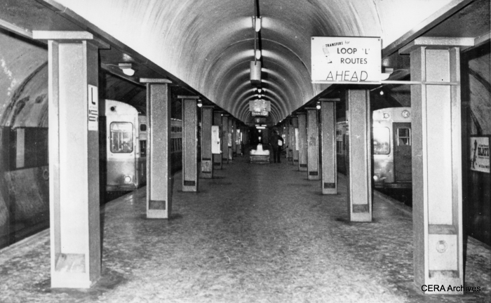 The Chicago Subway as it looked in 1965.