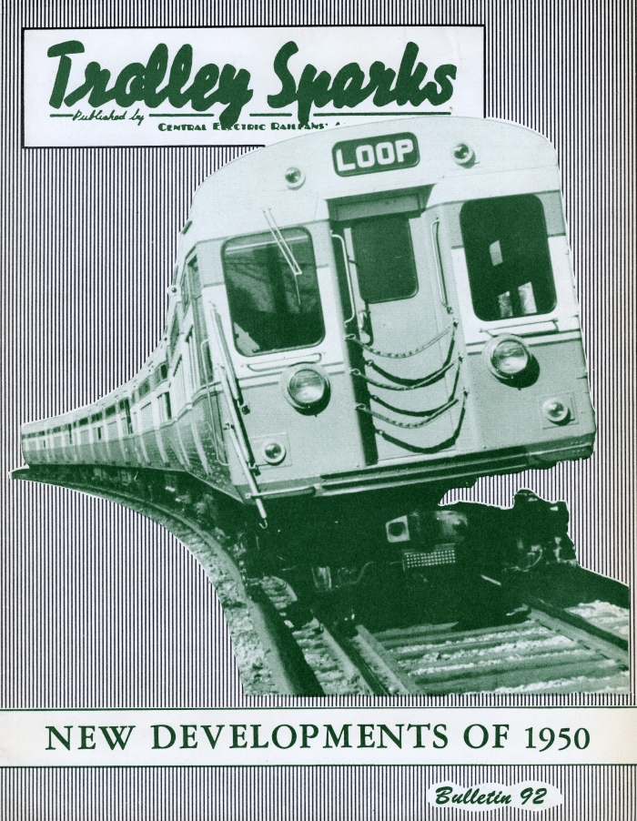 "The new CTA 6000s were featured on the cover of CERA Bulletin 92, as one of the ""new developments of 1950."""