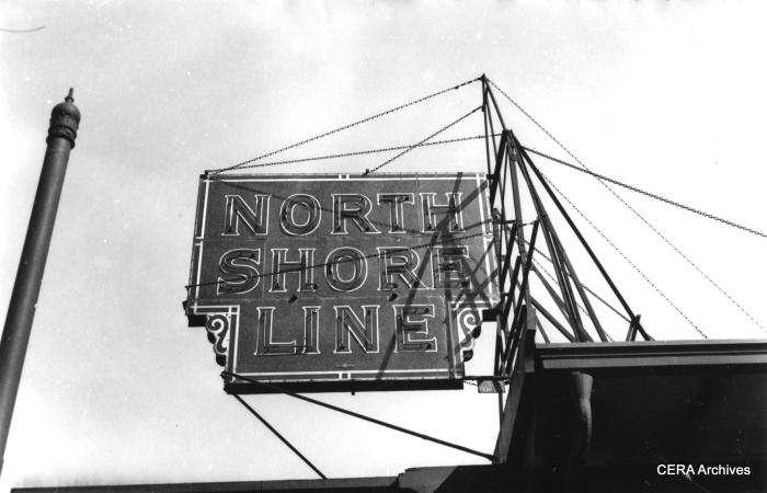 This sign, or one just like it, now hangs at the Illinois Railway Museum.