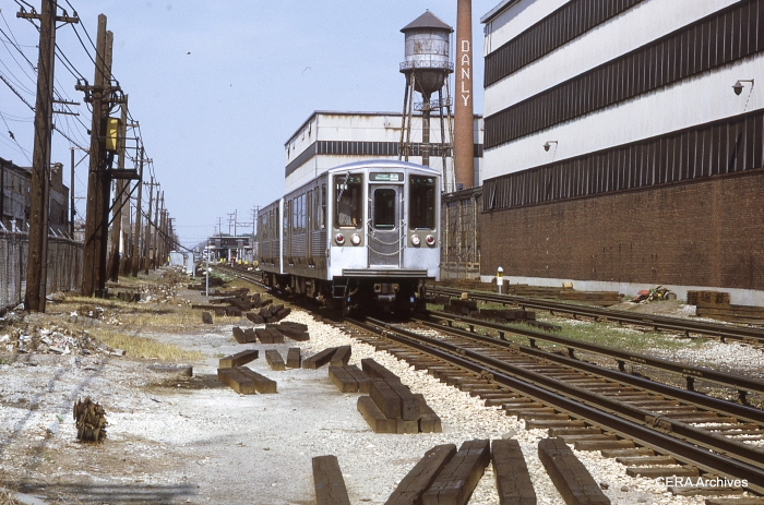 2261-62 at Laramie on Douglas Park (today's Pink Line) on July 4, 1971.