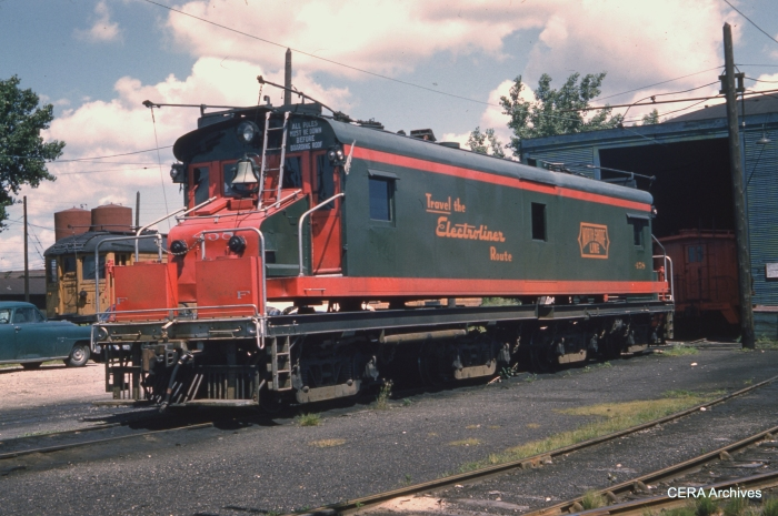 458 at North Chicago in July 1959. (Photo by Spitzer)