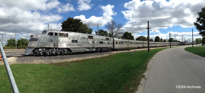 The Nebraska Zephyr at IRM. (Photo by Diana Koester)