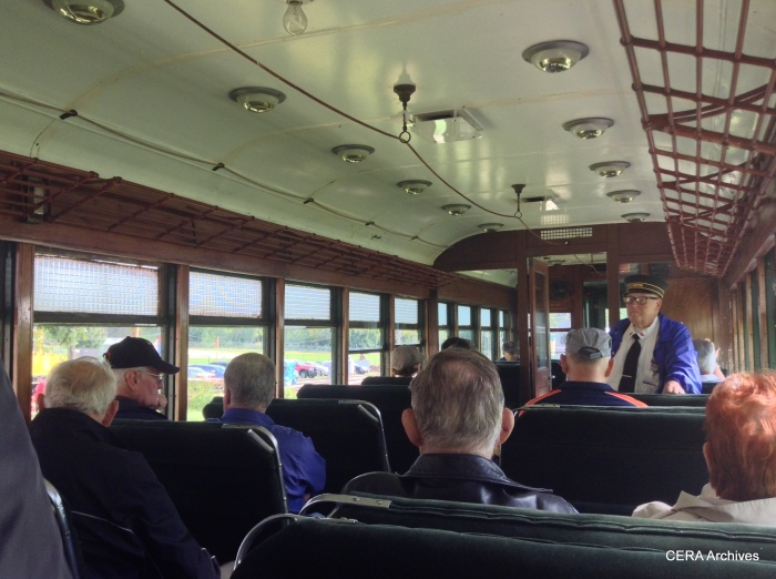 The interior of CNS&M 715. (Photo by Diana Koester)