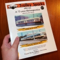 Our latest book, Trolley Sparks Special #1, which is now out of print, features a picture of a DART light rail vehicle in 2013.