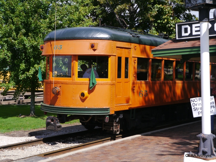 IR 65 on the Trolley Loop. (Photo by David Sadowski)