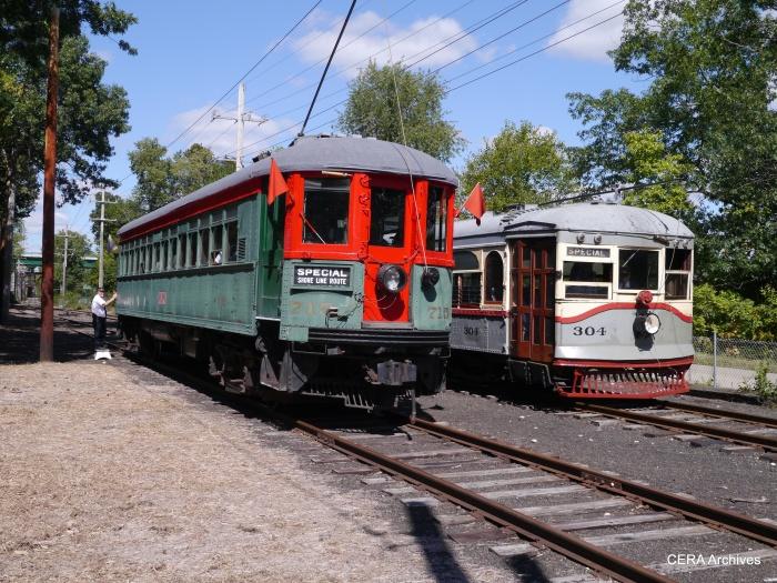 715 and 304 at Coleman. (Photo by David Sadowski)