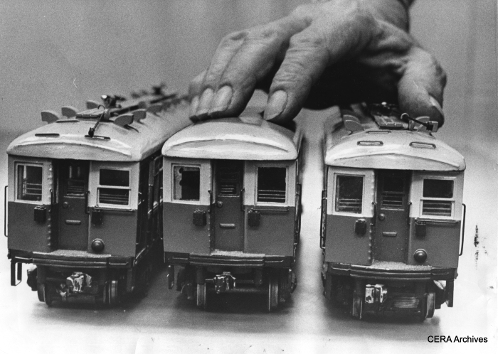 Stay on top of things. Attend one of our three upcoming fantrips. (These are CRT/CTA 4000s models made in the early 1970s by Jack Bender- photo by Pete Peters.)