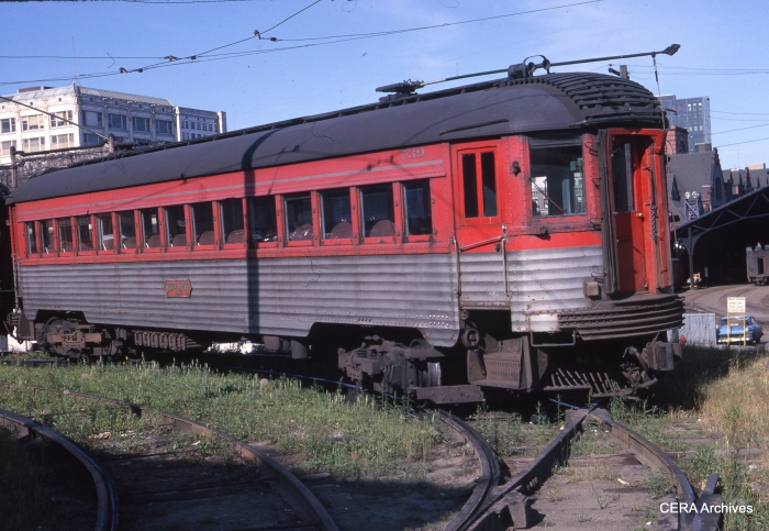 CNS&M 739 in Milwaukee on June 24, 1962. (Photographer unknown)