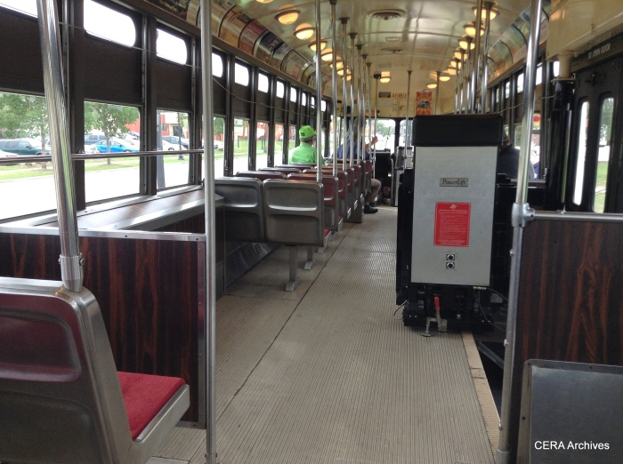 Kenosha's PCC have wheelchair lifts. (Photo by Diana Koester)