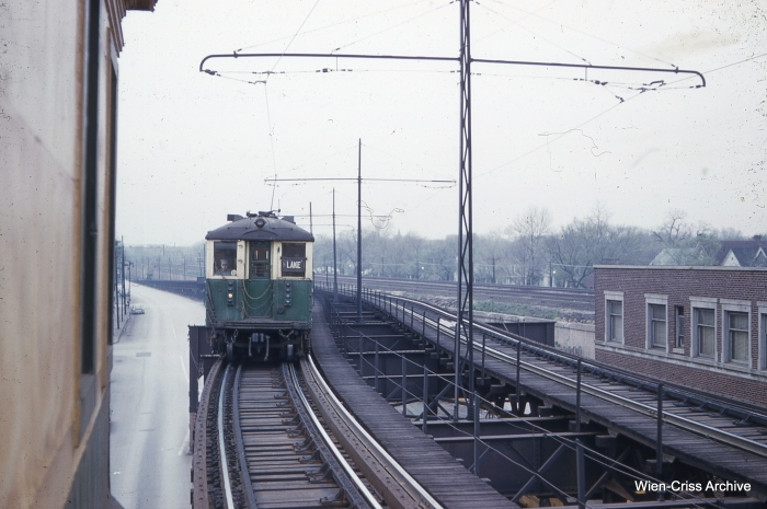 CTA 4297 at Laramie, May 7, 1961. (Photo by Charles L. Tauscher, Wien-Criss Archive)