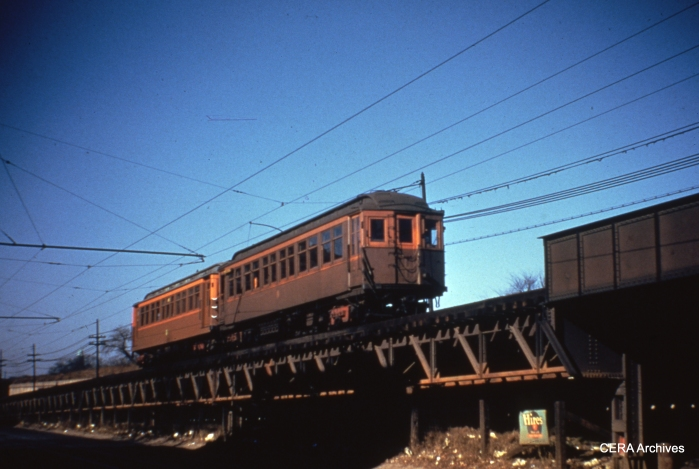 Going up the ramp between Central and Laramie. (Photographer Unknown)