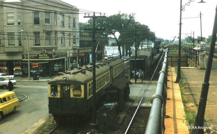 The Marion station on September 4, 1961. (Unknown Photographer)