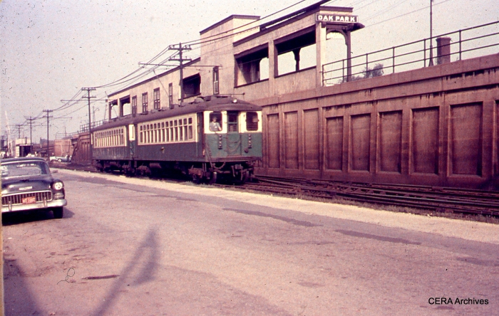 CTA 4367-4368 between Marion and Home avenues on August 31, 1961. (Photographer Unknown)