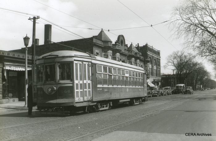 Car 144, signed for Melrose Park. (Photographer Unknown)