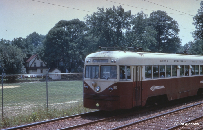 Brilliner 5 at Ardmore Junction on June 28, 1952. (Photographer unknown)