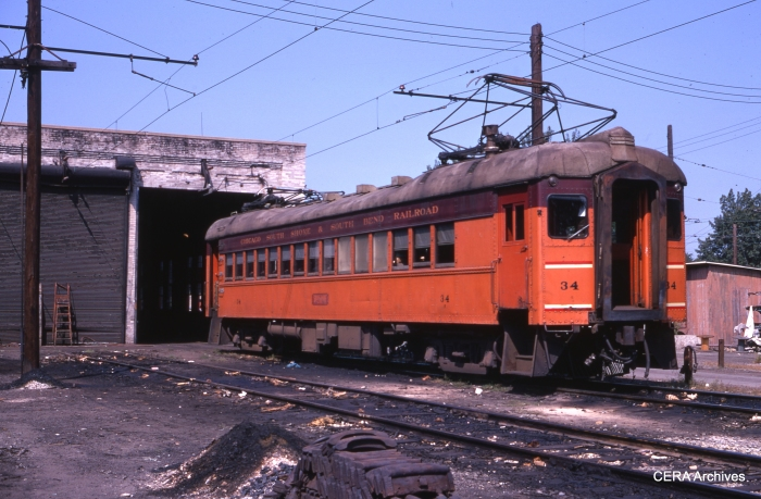 #34 in Michigan City in September 1969. (Photographer Unknown)
