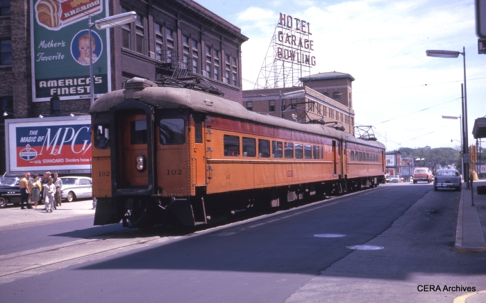 #102 at South Bend in December 1962. (Photographer Unknown)
