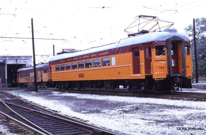 #104 at Michigan City on July 5, 1971. (Photo by Douglas N. Grotjahn)
