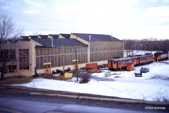 The Michigan City Shops in February 1971. (Photographer Unknown)