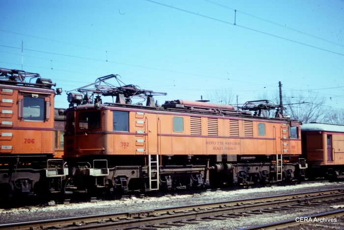 Loco 702 in June 1976. (Photographer Unknown)