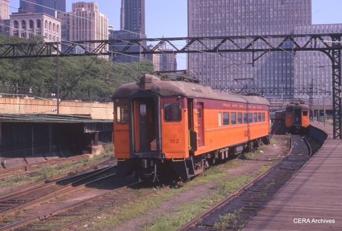 Combine 102 at Randolph Street in July 1971. (Photographer Unknown)