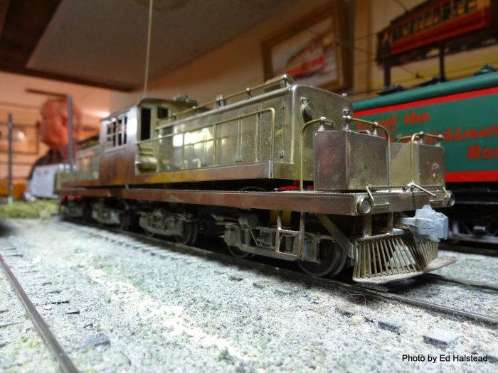 The brass model NSL 459 is a Ken Kidder model and belongs to Dan Ferlaciki. It was first imported dating back to the late 1950's or early 1960's. This brass model could be finished as either the Oregon Electric 50 or the NSL 459.