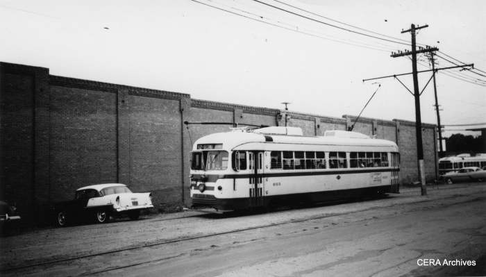Dallas PCC 603. (Photographer unknown)