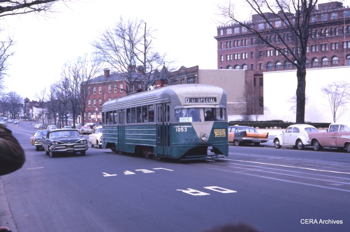 DCT 1053 on an ERA fantrip near the end of service in January 1962. (Photographer unknown)