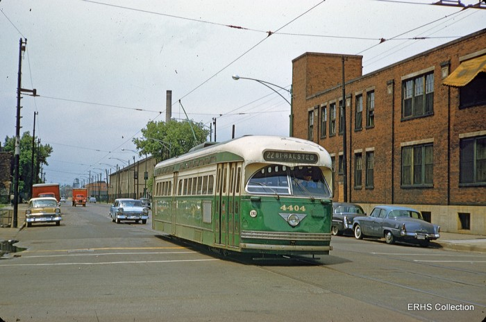 Gibson289: Somewhere on Wentworth. (Photo by Bob Gibson, ERHS Collection)