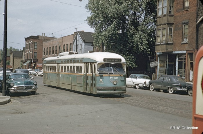 Gibson100: Somewhere on Wentworth. (Photo by Bob Gibson, ERHS Collection)