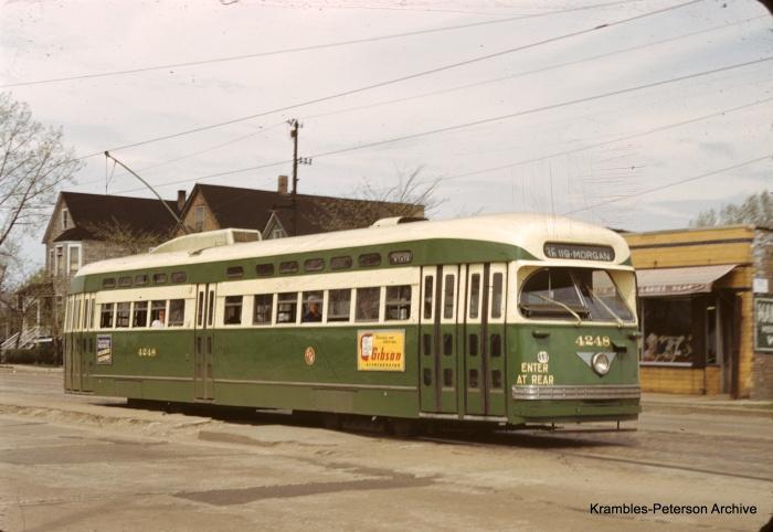 KP089: Somewhere on Michigan. (Photo courtesy Krambles-Peterson Archive)