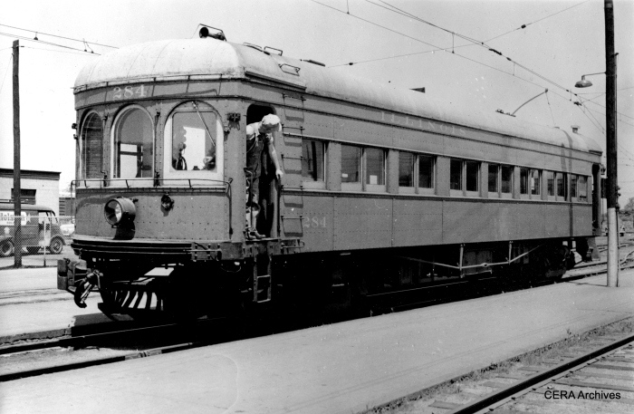 IT 284 was built by St Louis Car Co. in 1913. (Photographer unknown - CERA Archives)