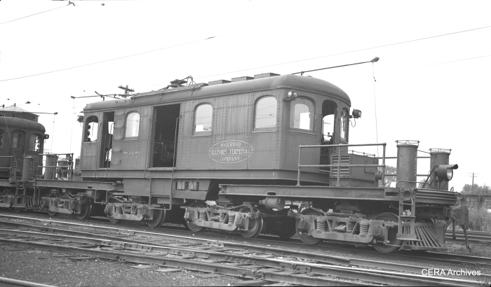 "IT ""Class C"" loco 1596 was built at Decatur in December 1929. Most IT locos were scrapped in 1956, but loco 1595 is preserved at the National Museum of Transportation in St. Louis. This picture was taken in East Peoria, Illinois, on June 11, 1953. (Photographer unknown - CERA Archives)"