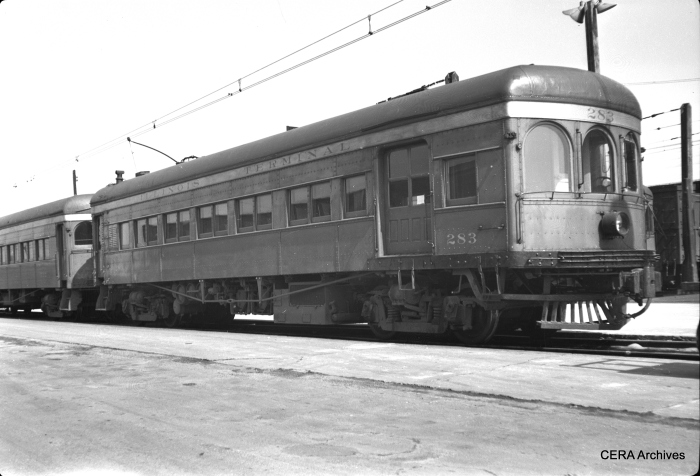 IT 283 in Springfield, Illinois, in November 1948. (Photographer unknown - CERA Archives)