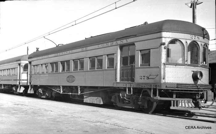 IT 278 in Springfield, Illinois, on November 7, 1948. (Photographer unknown - CERA Archives)