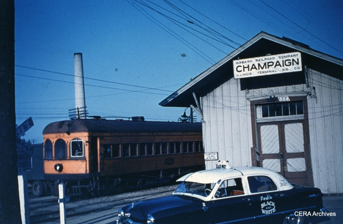 IT 263 at Champaign in 1951. (Photographer unknown - CERA Archives)