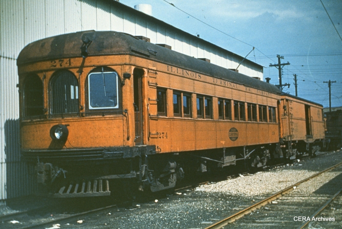 IT 274 in Peoria in 1951. (Photographer unknown - CERA Archives)